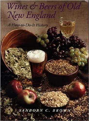Book cover for Wines and Beers of Old New England