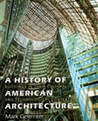 Book cover for A History of American Architecture