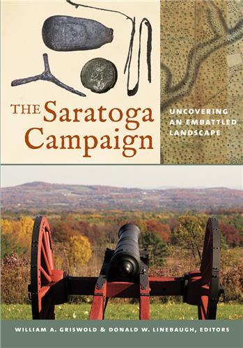 Book cover for The Saratoga Campaign