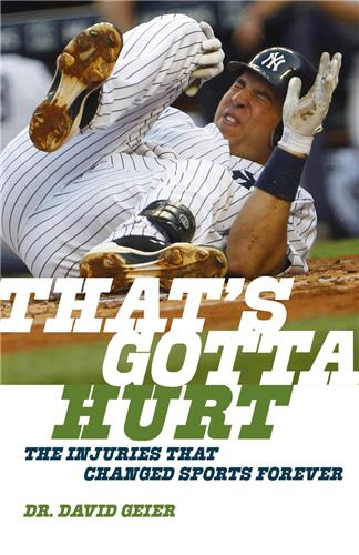 Book cover for That's Gotta Hurt