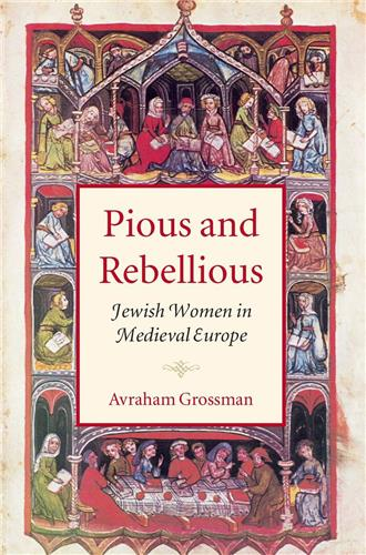 Book cover for Pious and Rebellious