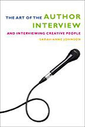 Book cover for The Art of the Author Interview