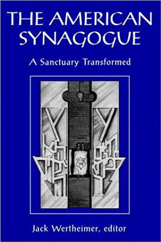 Book cover for The American Synagogue