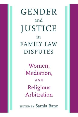 Book cover image for Gender and Justice in Family Law Disputes