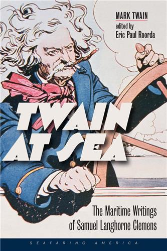 Book cover for Twain at Sea