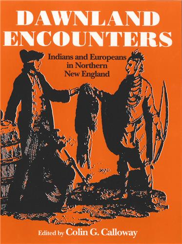 Book cover for Dawnland Encounters