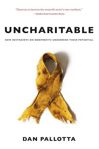 Book cover for Uncharitable