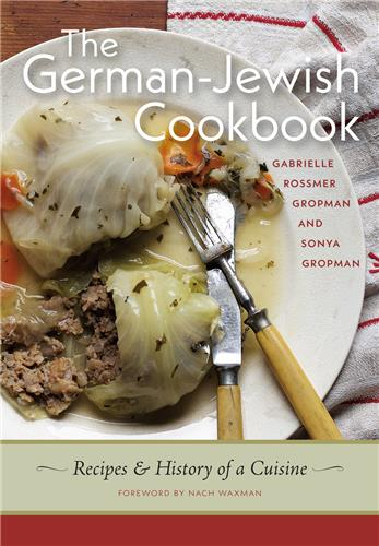 Book cover for The German-Jewish Cookbook