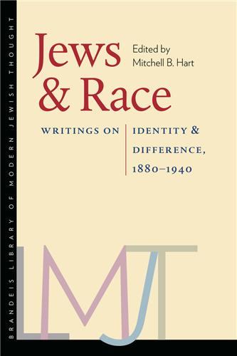 Book cover for Jews and Race