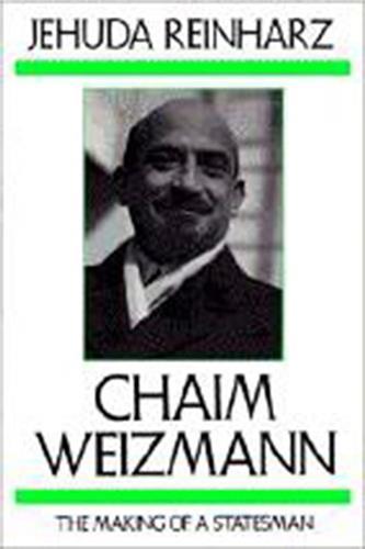 Book cover for Chaim Weizmann