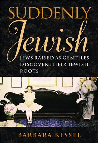 Book cover for Suddenly Jewish