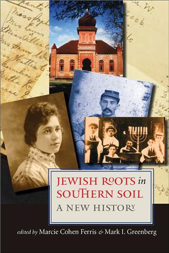 Book cover for Jewish Roots in Southern Soil