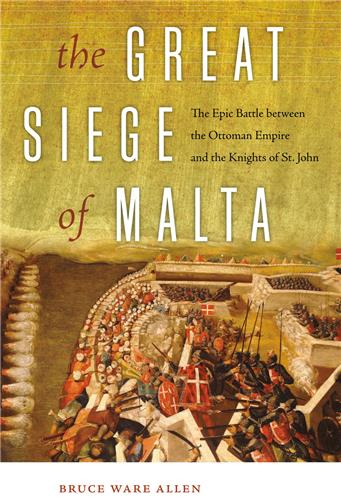 Book cover for The Great Siege of Malta