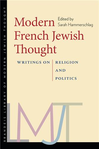 Book cover for Modern French Jewish Thought