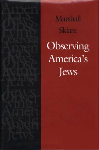 Book cover for Observing America's Jews