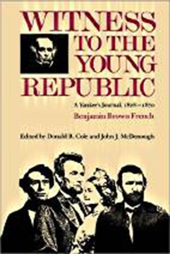 Book cover image for Witness to the Young Republic