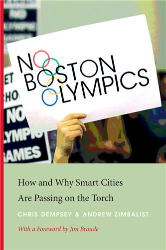 Book cover for No Boston Olympics