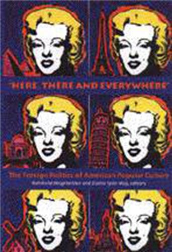 """Book cover for """"Here, There and Everywhere"""""""