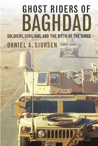 Book cover for Ghost Riders of Baghdad