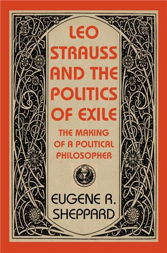Book cover for Leo Strauss and the Politics of Exile
