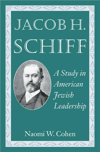 Book cover image for Jacob H. Schiff