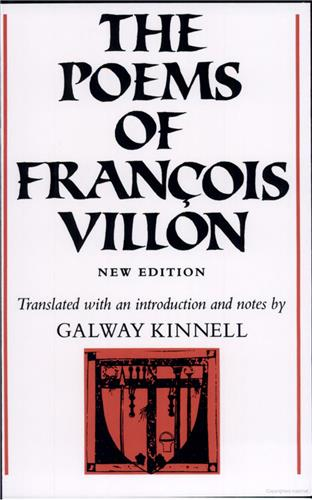 Book cover for The Poems of François Villon