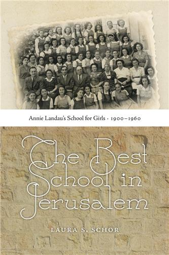 Book cover for The Best School in Jerusalem