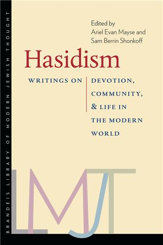 Book cover for Hasidism