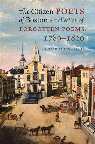 Book cover for The Citizen Poets of Boston