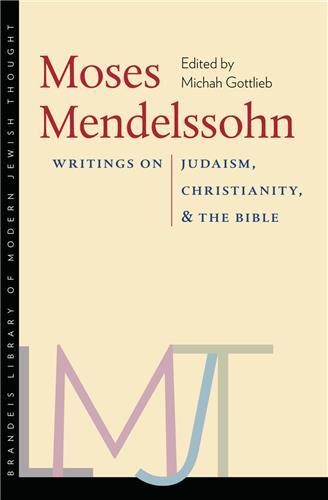 Book cover for Moses Mendelssohn