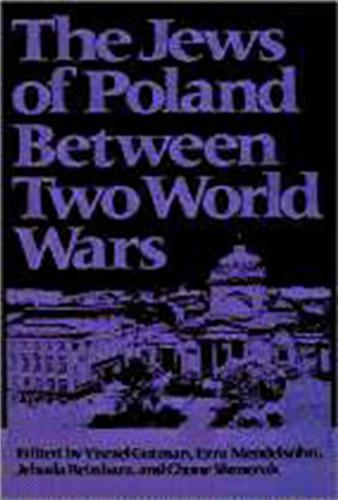 Book cover for The Jews of Poland Between Two World Wars