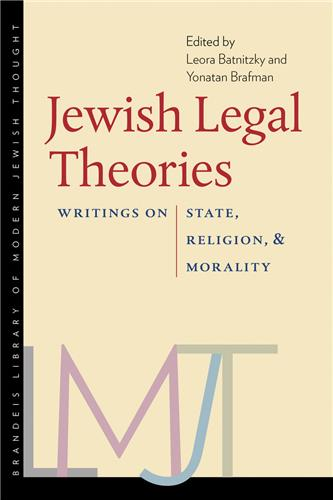 Book cover for Jewish Legal Theories