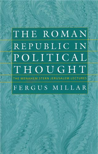 Book cover for The Roman Republic in Political Thought
