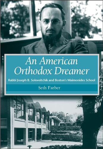 Book cover for An American Orthodox Dreamer