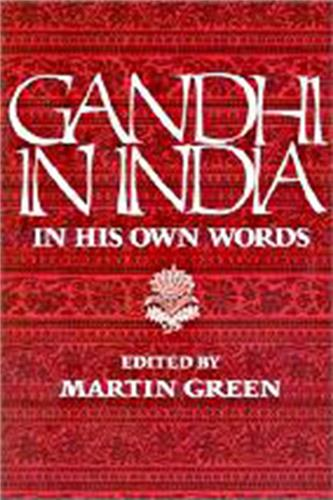 Book cover for Gandhi in India