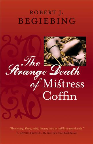 Book cover for The Strange Death of Mistress Coffin