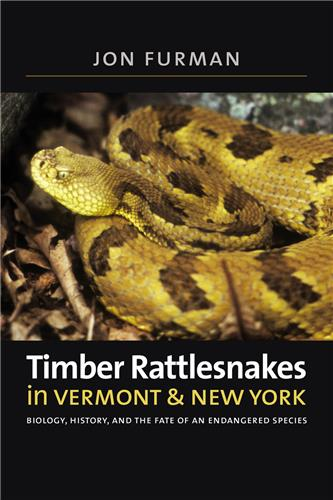 Book cover for Timber Rattlesnakes in Vermont & New York