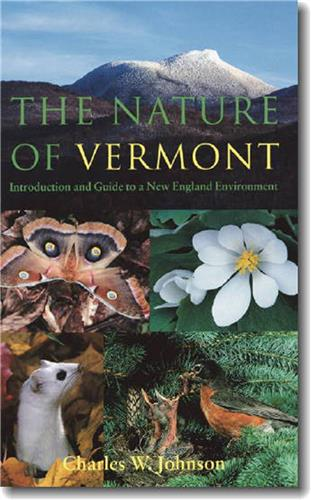 Book cover for The Nature of Vermont