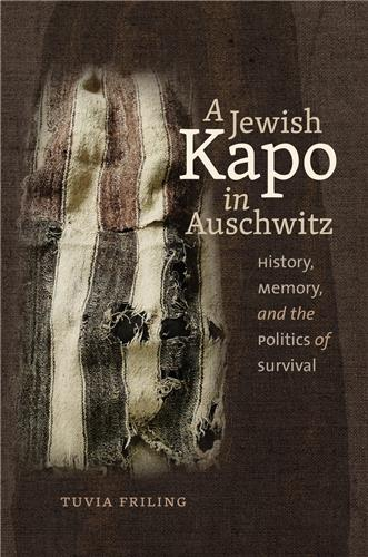 Book cover for A Jewish Kapo in Auschwitz