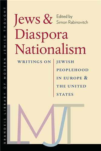 Book cover for Jews and Diaspora Nationalism