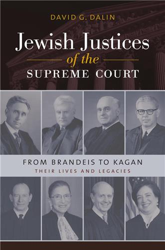 Book cover for Jewish Justices of the Supreme Court