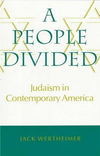 Book cover for A People Divided