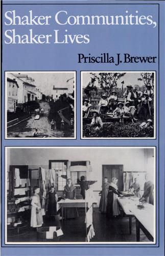 Book cover for Shaker Communities, Shaker Lives