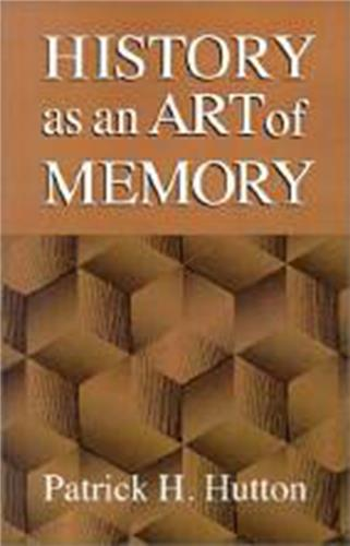 Book cover for History as an Art of Memory